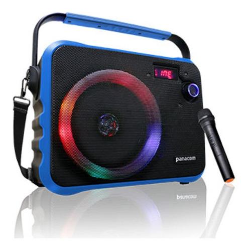 Parlante Portátil Panacom Bluetooth Aux Micrófono Sp-3070wm
