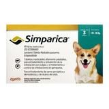 Simparica 3 Comprimido 10-20 Kg +duración Envio Gratis Tps