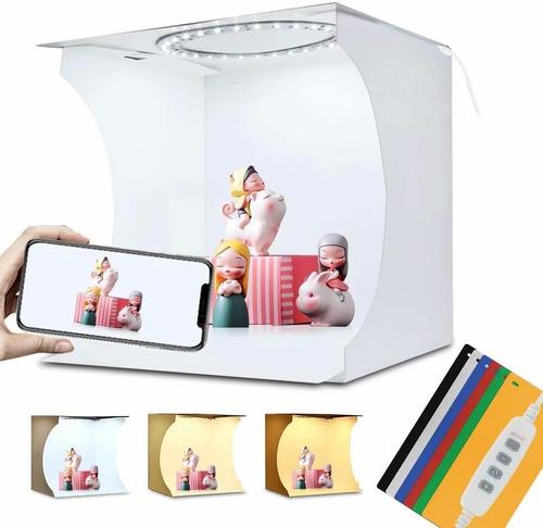 Caja De Luz Con 80 Led Regulables Para Estudio Fotográfico