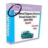Manual Diagrama Electricos Renault Kangoo Fase 2 (2003-2008)