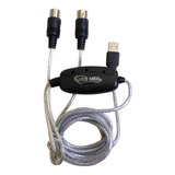 Cable Convertidor Midi A Usb Conecta Tu Teclado A Pc/mac