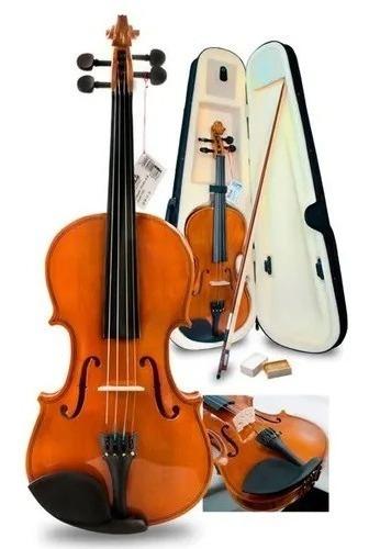 Violin 4/4 Traviata Con Estuche Arco Y Accesorios - 7360