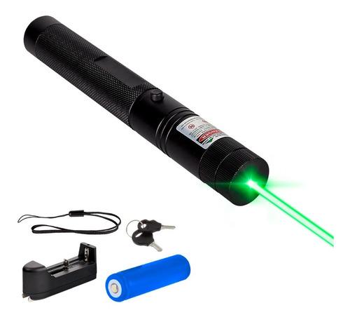 Puntero Laser Verde Punto Efectos Lluvia Bateria Recargable