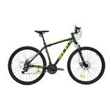 Mountain Bike Slp 5 Pro R29 18  21v Frenos De Disco Mecánico Cambios Slp Color Negro/verde
