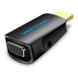 Adaptador Conversor Vga A Hdmi Con Audio 3.5mm - Vention