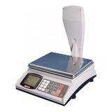 Balanza Comercial Digital Moretti Shop 30kg Con Mástil 220v