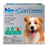 Nexgard Perro 10-25 Kg Afoxolaner 3 Comp Tps