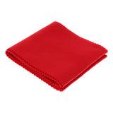 Tela Anti-polvo Para Teclado De Piano Rojo