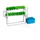 Sistema Hidroponia Start-up + Duomix Nutrientes - 16 Macetas