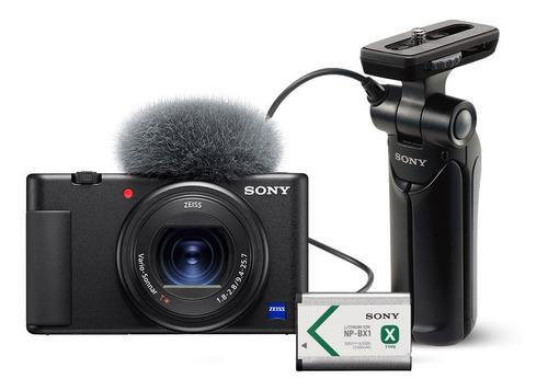 Camara Sony Zv1 Vlog 4k Hdr + Grip Tripode + Bateria Bx1 Kit