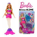 Barbie Sirena Slime Dreamtopia Original Mattel