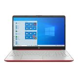 Laptop Hp 15-dw1081wm Roja 15.6 , Intel Pentium Gold 6405u  4gb De Ram 500gb Hdd, Intel Uhd Graphics 1366x768px Windows 10 Home