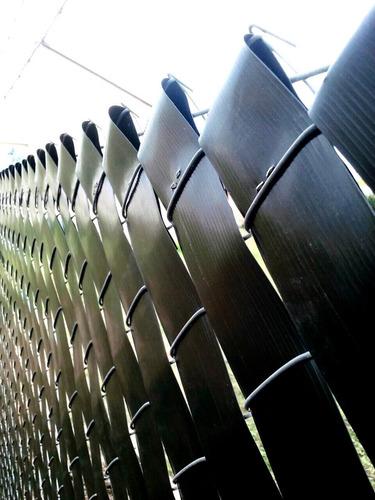 Cinta Cubre Cerco / Alambrados  - 20m2 - Verde/negro/marrón