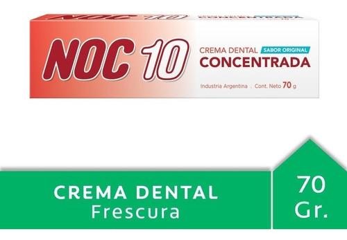Noc 10 Concentrada Tubo 70 Gr 7793100130236