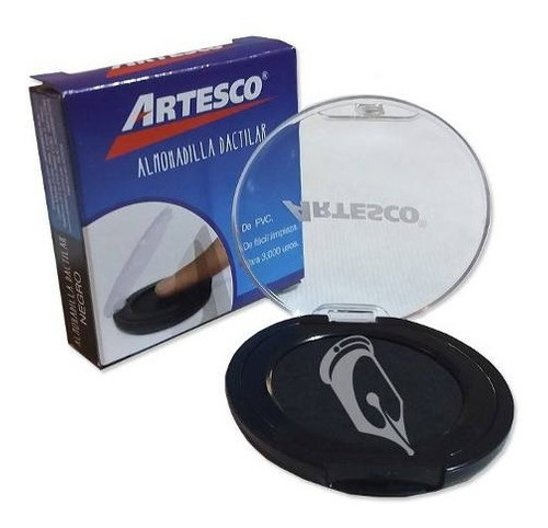 Almohadilla Dactilar Para Huellas Digitales 3000usos Artesco
