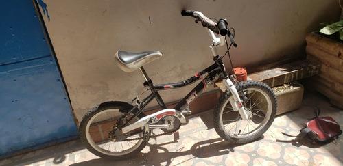 Bicicleta Niño/a Unisex Rod 16 Frenos Del. Tras. Cub. C/camr