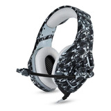 Headset Gamer Onikuma K1-b Camouflage Gray