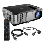 Proyector Gadnic Ultra View 6000 6000lm Negro Y Gris 110v/240v