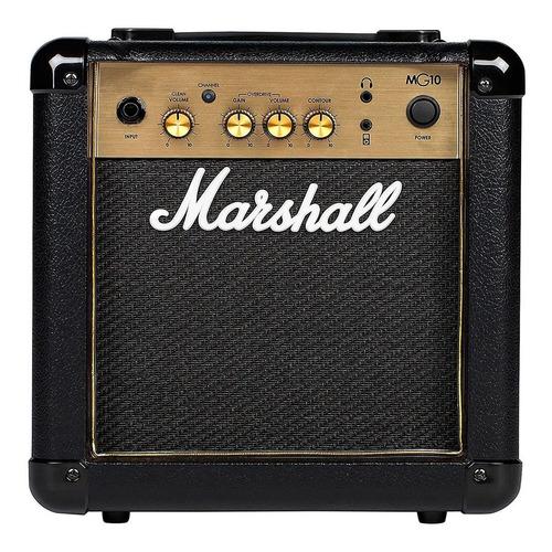 Amplificador De Guitarra Marshall Mg10cf 10w 2canales