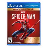 Juego Ps4 Spiderman Goty Playstation 4 Físico Sony Original