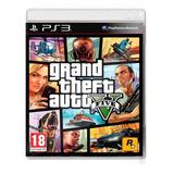 Grand Theft Auto V Standard Edition Rockstar Games Ps3 Físico