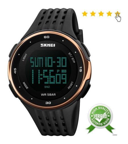 Reloj Deportivo Dama, Sumergible, Alarma, Luminiscente,wr50m