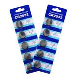 Blister De 5 Pilas Baterias Litio Cr2032 Cr 2032 3v