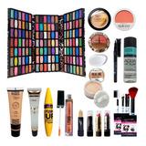 Set De Maquillajes 120 Sombras Base Rubor Iluminador Y Mas!!