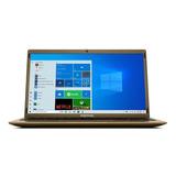 Notebook Positivo Bgh Motion Q4128c Dourada 14.1 , Intel Atom Z8350  4gb De Ram 128gb Ssd, Intel Hd Graphics 1366x768px Windows 10 Home