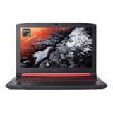 Notebook Acer Aspire Nitro 5 An515-54 Vermelha E Preta 15.6 , Intel Core I5 9300h  8gb De Ram 1tb Hdd 128gb Ssd, Nvidia Geforce Gtx 1650 60 Hz 1920x1080px Linux Endless