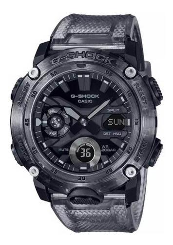 Relógio Casio G-shock Ga-2000ske-8adr Série Transparent Pack