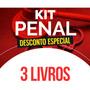 Kit De Direito Penal - 3 Livros Original