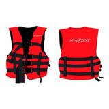 Chaleco Salvavidas Alto Impacto 75 Kg. Ideal Para Kayak