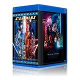 Pack Star Wars Bluray Bd25 Latino