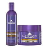 Shampoo + Mascara Matizador Silver La Puissance Violeta