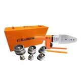 Termofusora Lusqtoff 800w + Maletin + 6 Boquillas Para Sistemas Aquasystem Y Sigas Termofusionadora