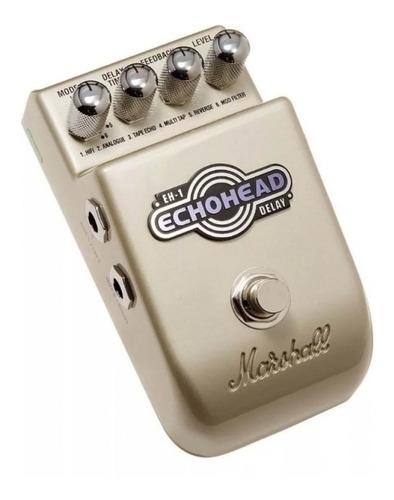 Pedal Para Guitarra Digital Delay Marshall Eh-1 Echohead