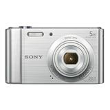 Sony Dsc-w800 Compacta Color  Plata