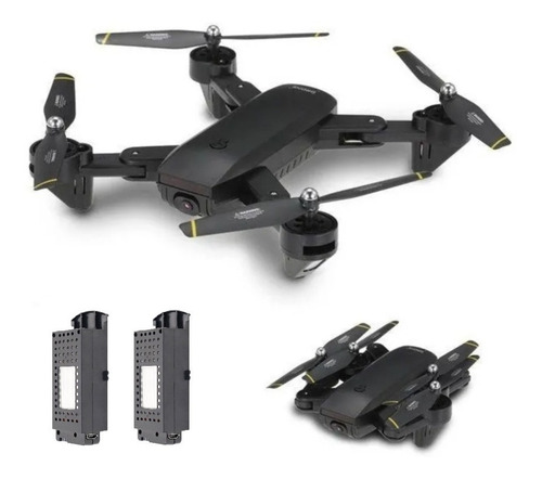 Drone Daming Dm107s Cámara 4k Full Hd 2 Baterías