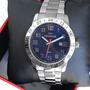 Relógio Technos Masculino Analógico Prata Azul 2115mpm/1k Original