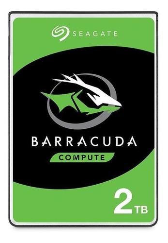 Disco Duro Interno Seagate 2tb Barracuda 2.5  5400rpm Sata3