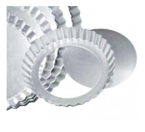 Molde Tartaleta Pay Desmoldable 1/4lb Aluminio