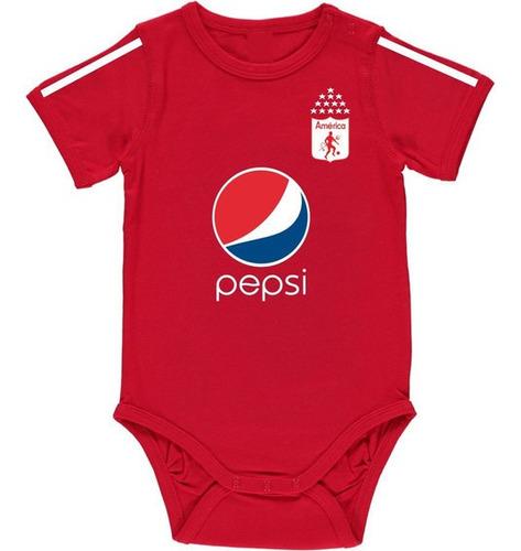 Mameluco Body Para Bebé Personalizado America De Cali