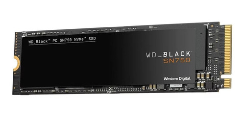 Disco Sólido Interno Western Digital Wd Black Sn750 Wds100t3x0c 1tb Negro