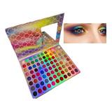 Paleta 88 Sombras Para  Maquillaje De Ojos 3d. Hedybeauty