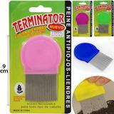 Pack 12 Peines Especiales Antipiojos-liendres 9cm Colores