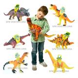 Dinosaurios Grandes Juguete Sonido Niños Coleccion Completa