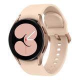 Samsung Galaxy Watch4 1  Caja 40mm  Rosa Malla  Rosa De  Silicona