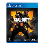Call Of Duty: Black Ops 4 Standard Edition Actvision Ps4  Físico