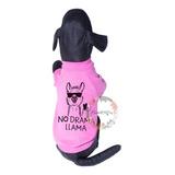 Buzo No Drama Llama Perro Grande T. Xxl Al Mega Rosa Chicle